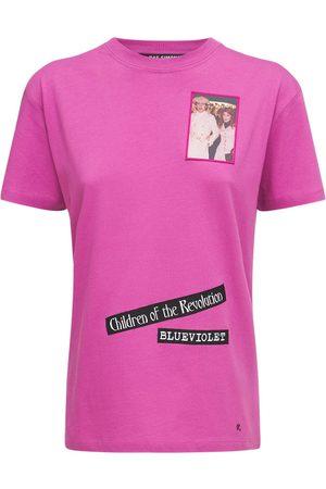 RAF SIMONS Femme T-shirts - T-shirt En Jersey De Coton Avec Patchs