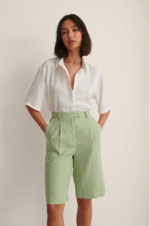 NA-KD En Lin Short Bermuda - Green