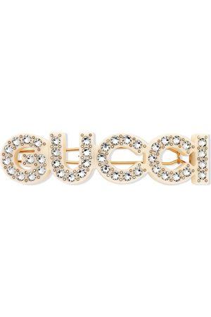 Gucci Barrette à ornements en cristal