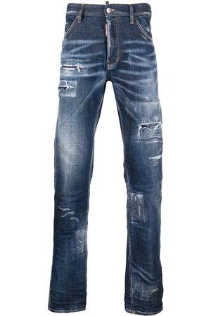 Dsquared2 Homme Bootcut jeans - Jean bootcut à effet usé