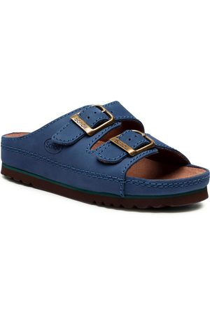 Scholl Femme Mules & Sabots - Mules / sandales de bain - F21531 Air Bag Med 1017 Cobalt Blue