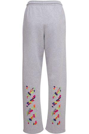 OFF-WHITE Lvr Exclusive Pantalon En Coton Imprimé