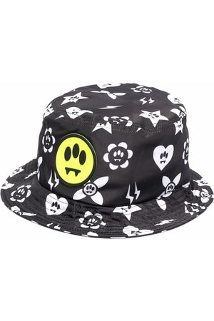 BARROW Logo-print bucket hat