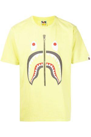 A Bathing Ape T-shirt à imprimé requin