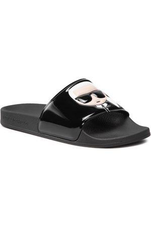 Karl Lagerfeld Mules / sandales de bain - KL80906 Black Rubber
