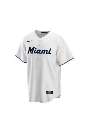 Nike Homme Vêtements de sport - Maillot de Baseball MLB Miami Marlins Replica Home pour Homme