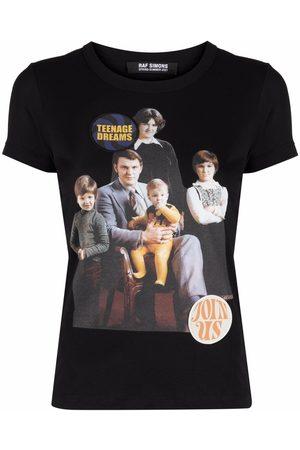 RAF SIMONS T-shirt à imprimé Family Portrait