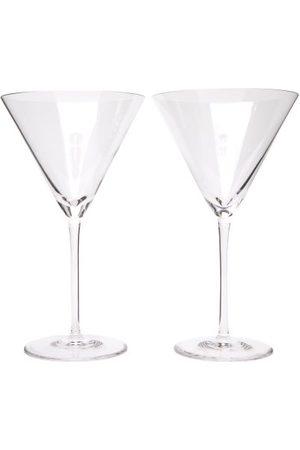 Richard Brendon Ensembles - Ensemble de deux verres à martini en cristal