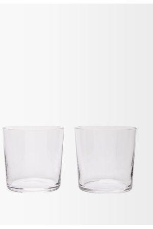 Richard Brendon Ensemble de deux verres en cristal