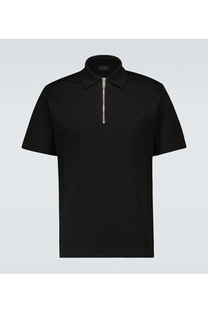 Givenchy Polo zippé en coton