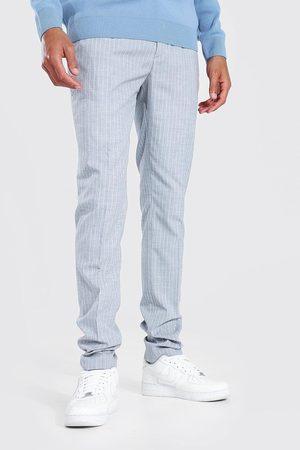Boohoo Homme Pantalons Slim & Skinny - Tall Skinny Pinstripe Trouser Homme