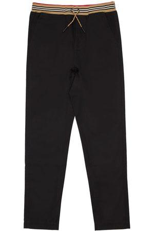 Burberry Pantalon En Gabardine De Coton