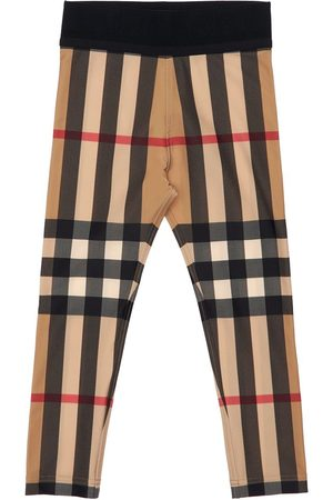 Burberry Legging En Textile Technique