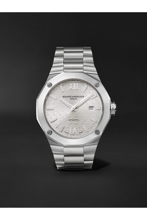 Baume & Mercier Homme Montres - Riviera Automatic 42mm Stainless Steel Watch, Ref. No. M0A10622