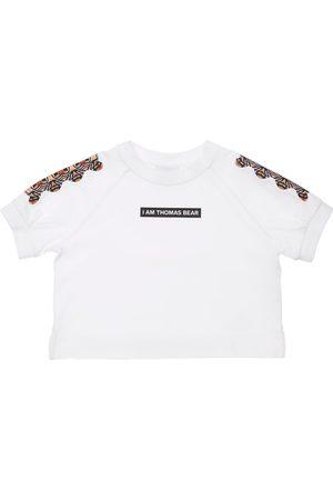 Burberry T-shirt En Jersey De Coton Imprimé Ourson