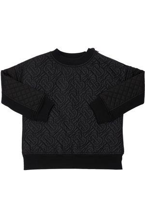 Burberry Sweat-shirt En Coton À Logo