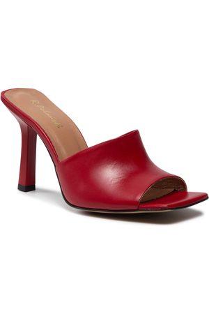 R. Polański Femme Mules & Sabots - Mules / sandales de bain R.POLAŃSKI - 1268 Czerwony Lico