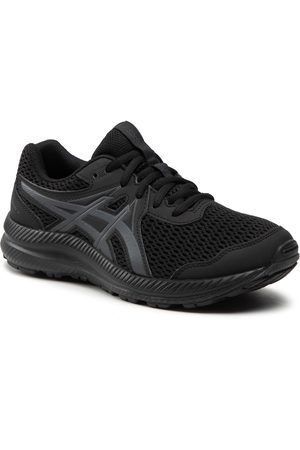 Asics Chaussures - Contend 7 Gs 1014A192 Black/Carrier Grey 001