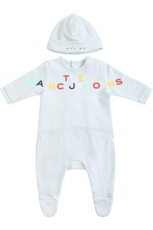 Marc Jacobs Bodys bébé - Barboteuse & Bonnet En Coton Bio Imprimé