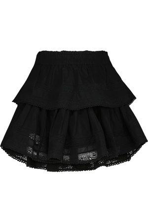LOVESHACKFANCY Femme Mini-jupes - Mini-jupe en coton