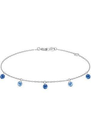 LA BRUNE & LA BLONDE Femme Bracelets - Bracelet Confetti - Bleu