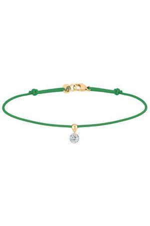 LA BRUNE & LA BLONDE Femme Bracelets - Bracelet Cordon BB - diamant solitaire