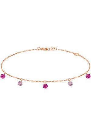 LA BRUNE & LA BLONDE Femme Bracelets - Bracelet Confetti - Rose