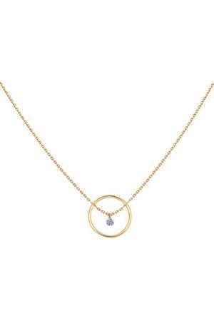 LA BRUNE & LA BLONDE Femme Colliers - Collier Excentrique - diamant
