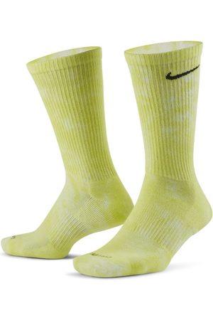Nike Chaussettes mi-mollet épaisses à motif tie-dye Everyday Plus (2 paires)