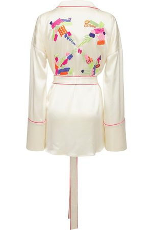 OFF-WHITE Lvr Exclusive - Chemise De Pyjama Brodée
