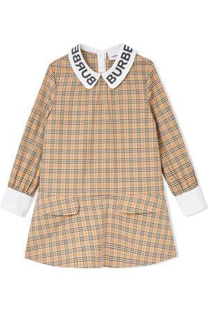Burberry Robe à logo imprimé