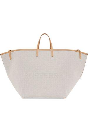 Burberry Grand sac cabas à logo embossé