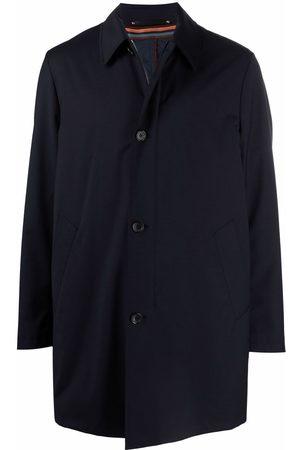Paul Smith Manteau en laine à simple boutonnage