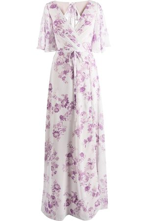 Marchesa Notte Robe longue à fleurs