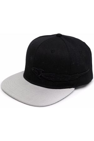 ENTERPRISE JAPAN Bonnets - Logo-patch two-tone cap