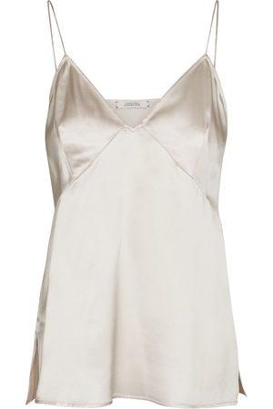 Dorothee Schumacher Femme Tops & T-shirts - Caraco Sense of Shine en soie mélangée