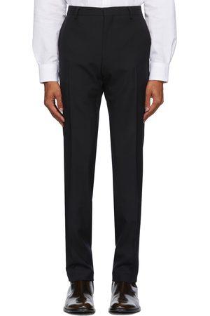 DRIES VAN NOTEN Pantalon en laine noir