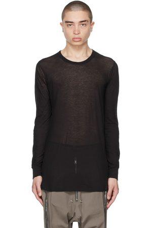 Rick Owens Homme Manches longues - T-shirt à manches longues noir basique