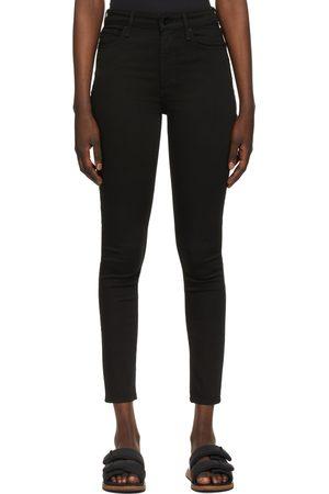 RAG&BONE Jean skinny Nina noir à taille haute