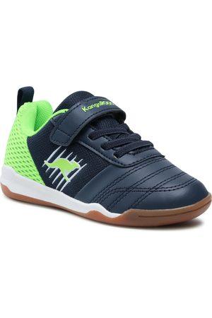 KangaROOS Chaussures - Super Court Ev 18611 000 4054 Dk Navy/Lime