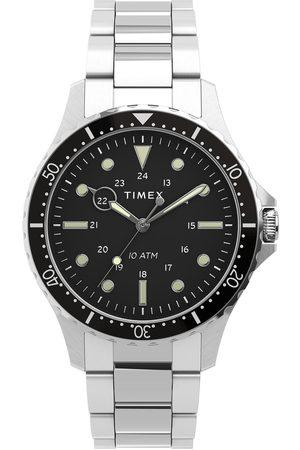 Timex Montre - Navi TW2U10800 Silver/Black