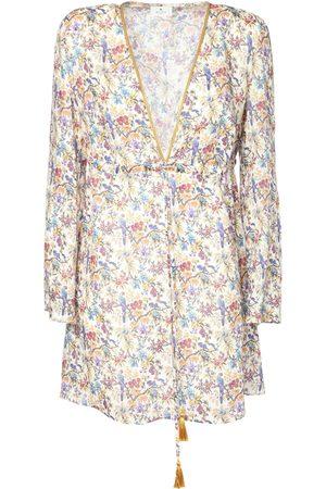 Etro Femme Robes imprimées - Mini-robe En Voile Imprimé