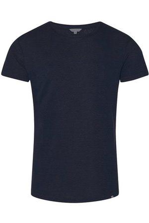 Orlebar Brown Homme Manches courtes - T-shirt en lin Ob-t Linen à coupe ajustée et à col rond