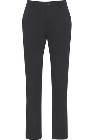 Burberry Pantalon Chino En Coton Avec Détails