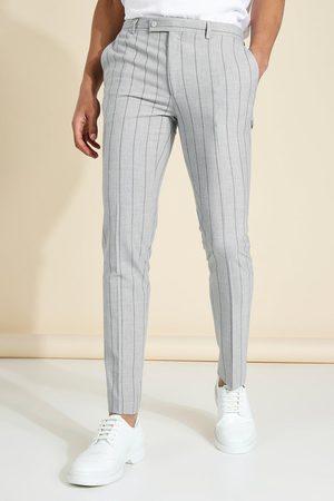 Boohoo Pantalon skinny à rayures Homme