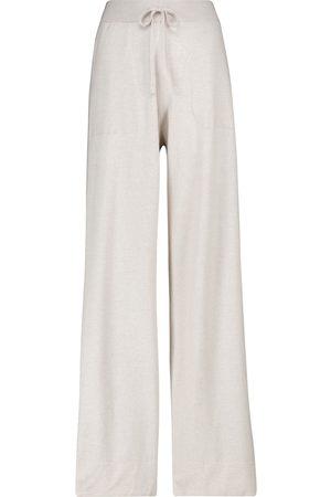 Dorothee Schumacher Pantalon de survêtement Surprising Attitude en laine et soie mélangées