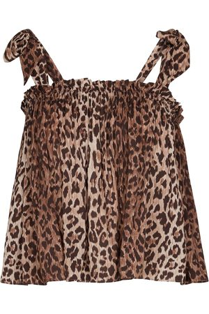 RIXO London Femme Tops & T-shirts - Caraco Pamala à motif léopard