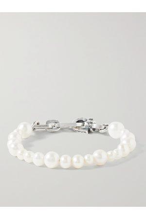 M.COHEN Sterling Pearl Bracelet
