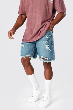 Boohoo Homme Shorts - Short ample déchiré Homme