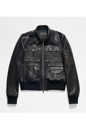 Tod's Homme Bomber - Bomber Multipoches en Cuir